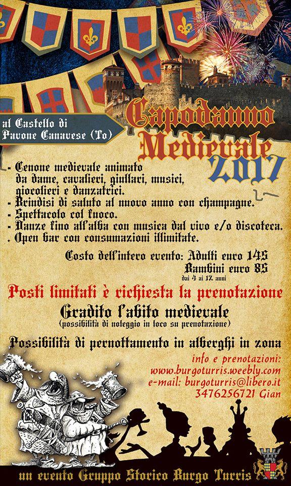 Capodanno Medievale 2017 Locandina